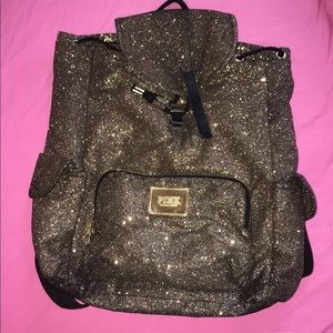 pink victoria's secret backpack
